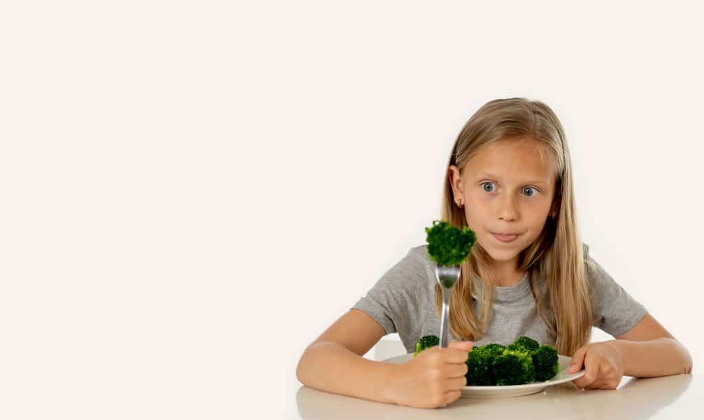 brocoli para niños