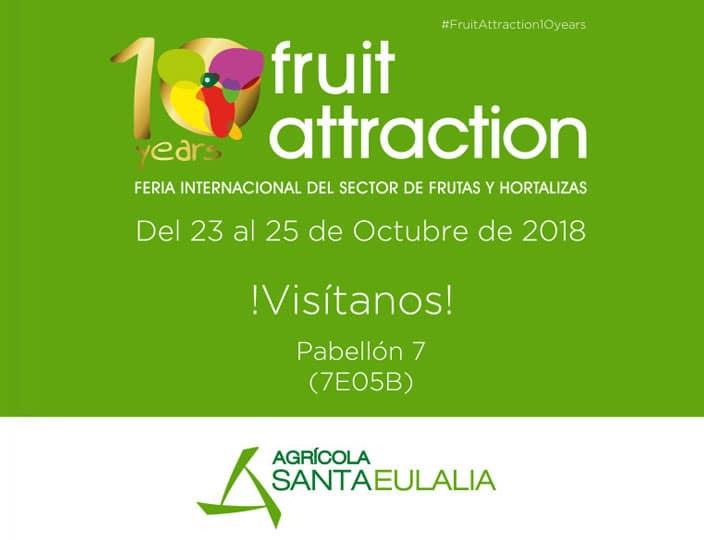 Mr. Broko presente en la Fruit Attraction