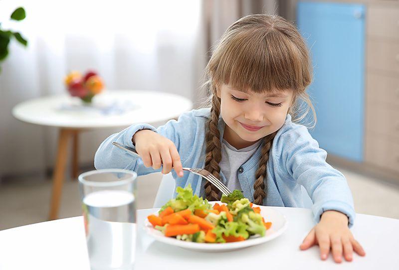 Guarniciones con brócoli para niños