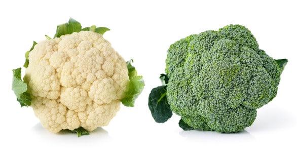 Brócoli y coliflor: diferencias y similitudes entre estas dos verduras