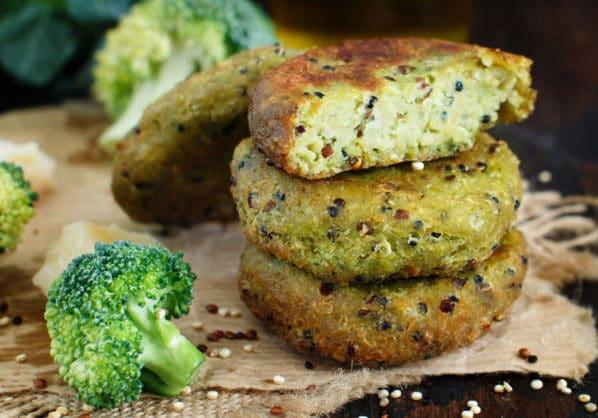 Receta de Hamburguesas de brócoli
