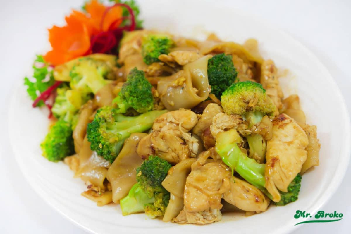 Receta de Brócoli con Pollo en Microondas