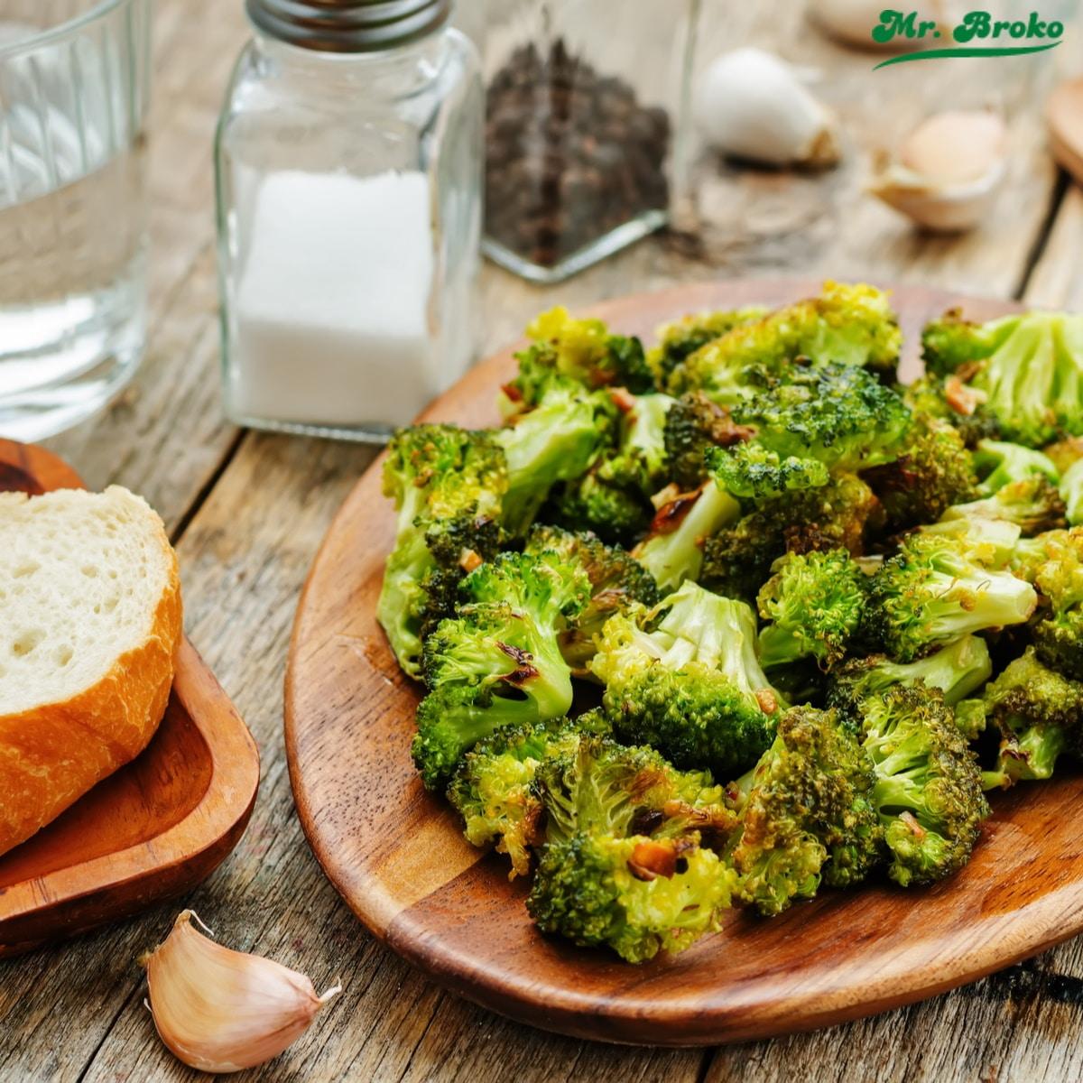 Receta de Brócoli a la plancha