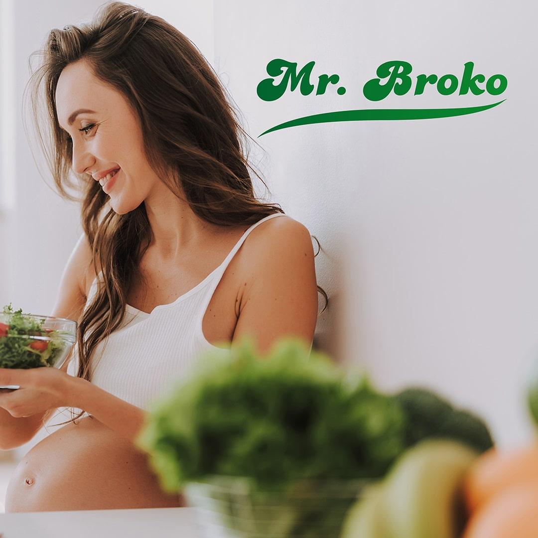Embarazo y brócoli