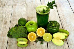 zumos detox verdes