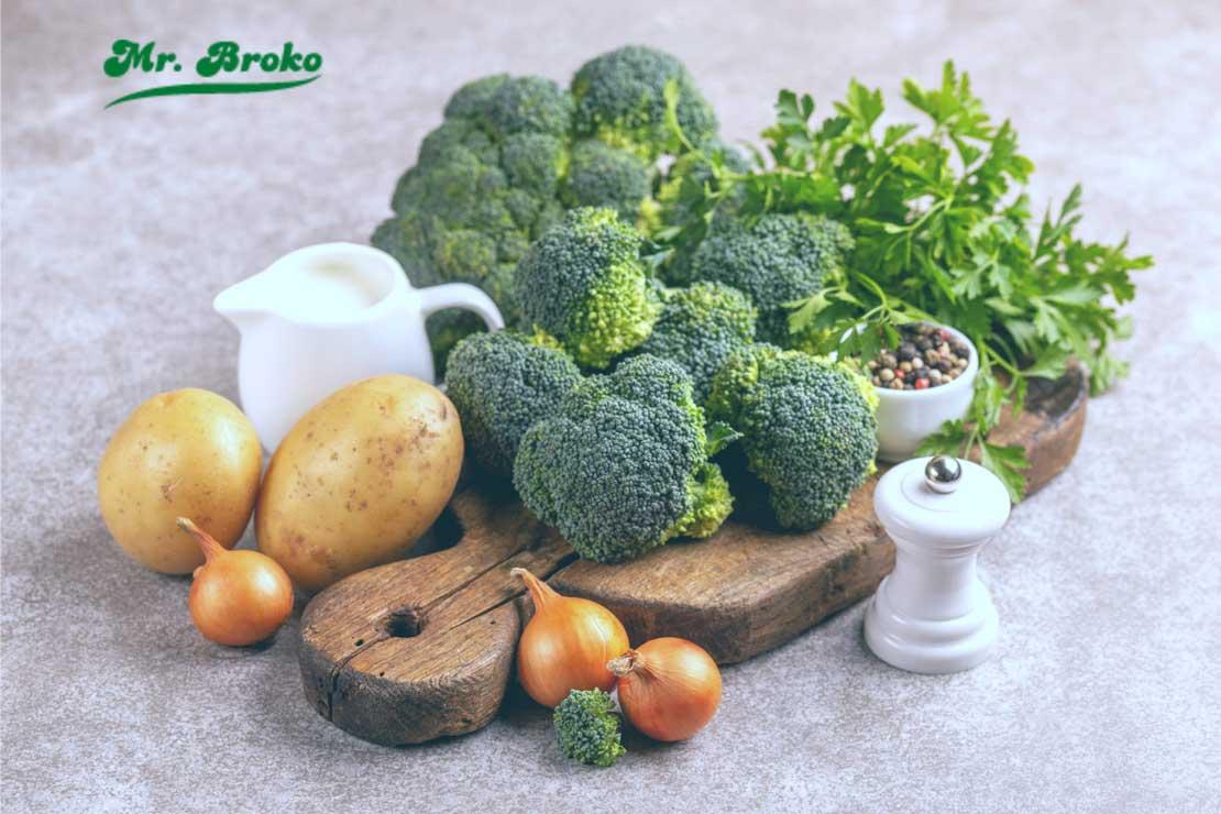 Comida para deportistas: Brócoli con patatas