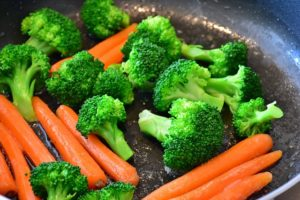 brocoli con zanahoria