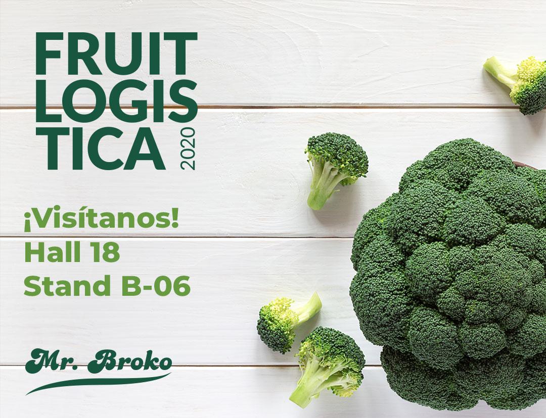 ¡Nos vemos en Fruit Logistica 2020!