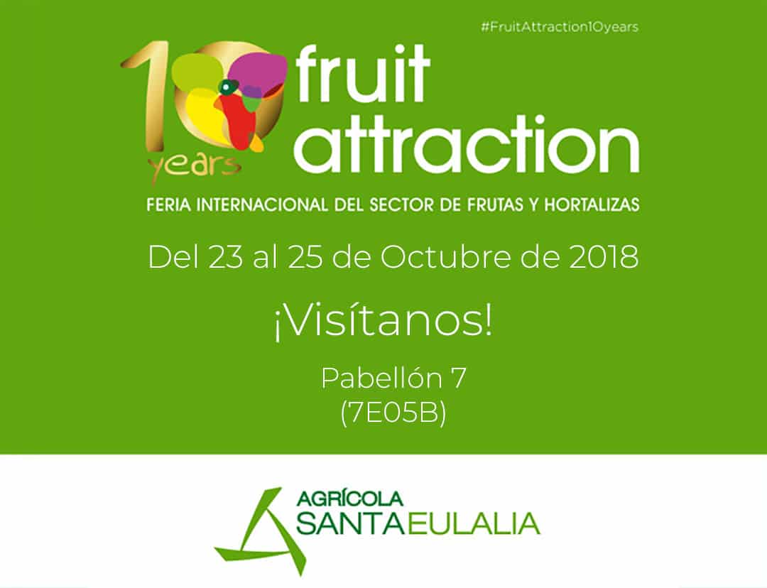 Mr. Broko presente en la Fruit Attraction