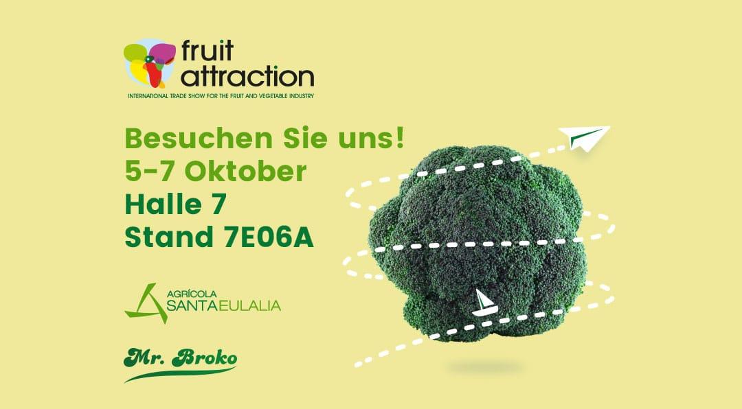 Mr. Broko ist anwesend an Fruit Attraction 2021