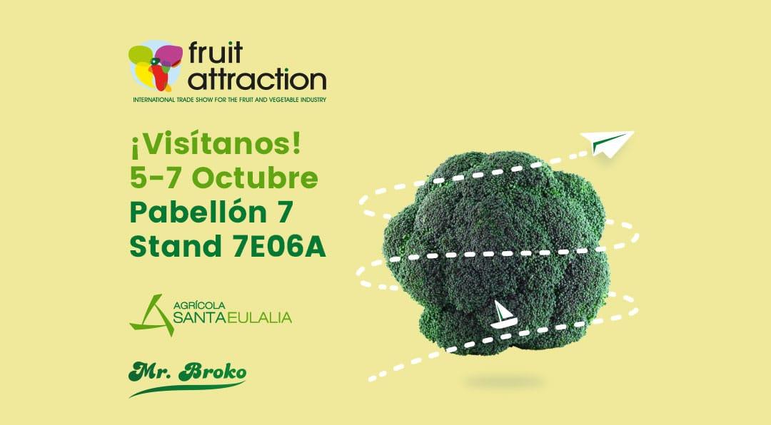 Mr. Broko presente de nuevo en la Fruit Attraction