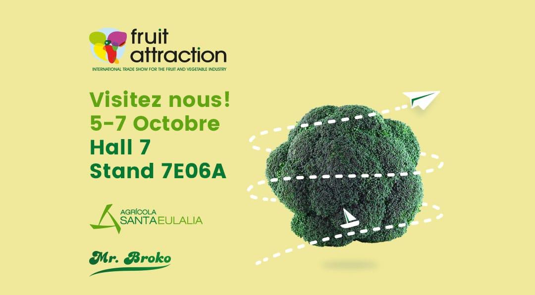 Mr. Broko est present à la Fruit Attraction 2021