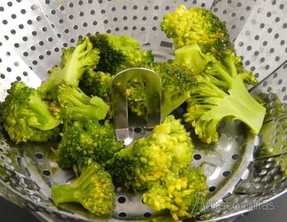 Como Cocinar Brocoli Hervido | Espaguetis Con Brocoli