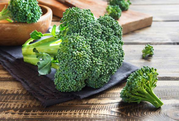 brocoli, coliflor y alcachofas