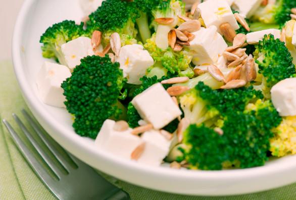 ensaladas con brócoli
