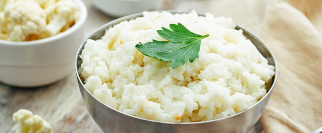 hortalizas receta coliflor