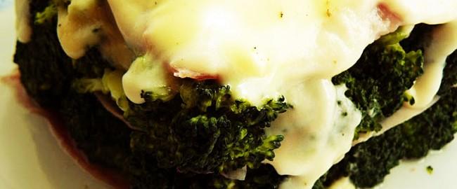 Lasaña de Brócoli