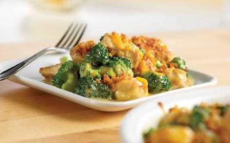 pollo con brocoli